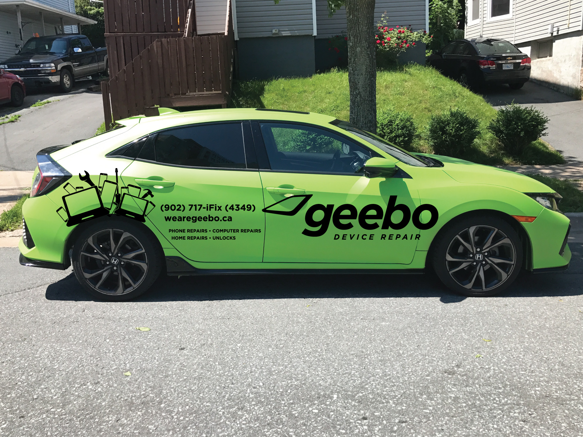 Geebo Car Wrap